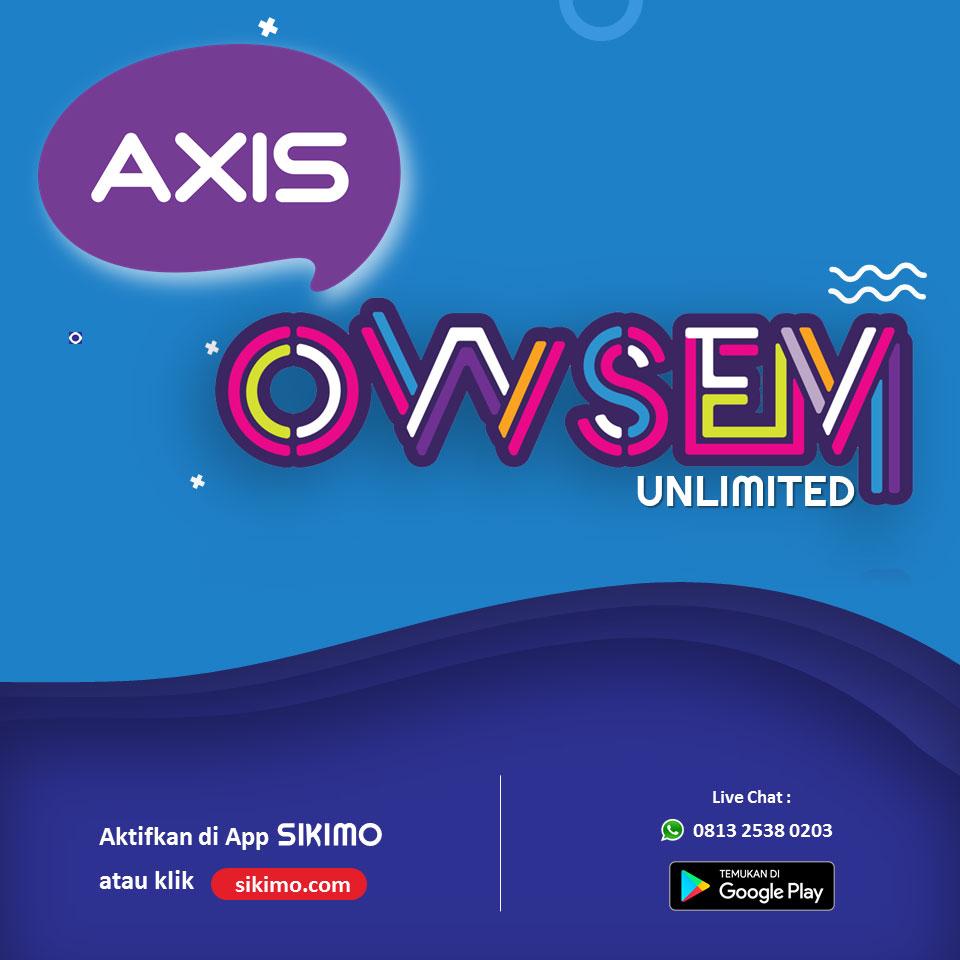 Syarat dan Ketentuan Paket Axis Data OWSEM Unlimited Games